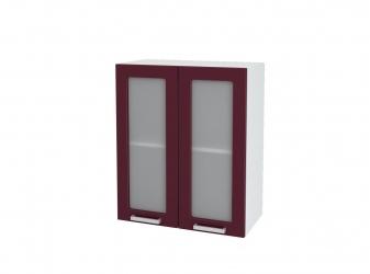 Кухня Мария шкаф верхний 600 со стеклом ШВС 600 ШхВхГ 600x716x314 мм