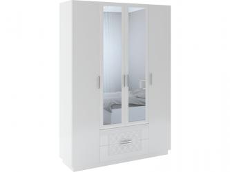Шкаф 4-х дверный с ящиками Тиффани М28