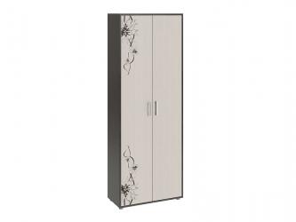 Шкаф комбинированный тип 1 Витра Венге Цаво-Дуб Белфорт с рисунком ШхВхГ 750х2041х360 мм