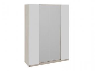 Шкаф комбинированный Валери Дуб сонома-Белый ясень