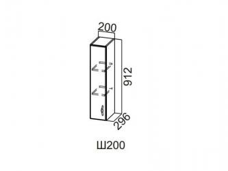 Шкаф навесной 200 Ш200-912 912х200х296мм Прованс
