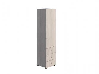Шкаф 1-створчатый комбинированный Мийа-3 А ШК-004