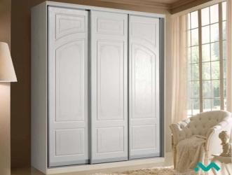 Шкаф-купе 3-х дверный Муза 1500 акация белая