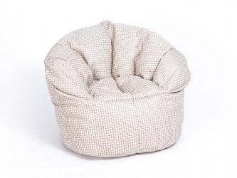 Кресло-пуф Relax рогожка бежевый