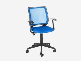 Кресло офисное Эксперт Т-эрго ткань TW-10 синяя